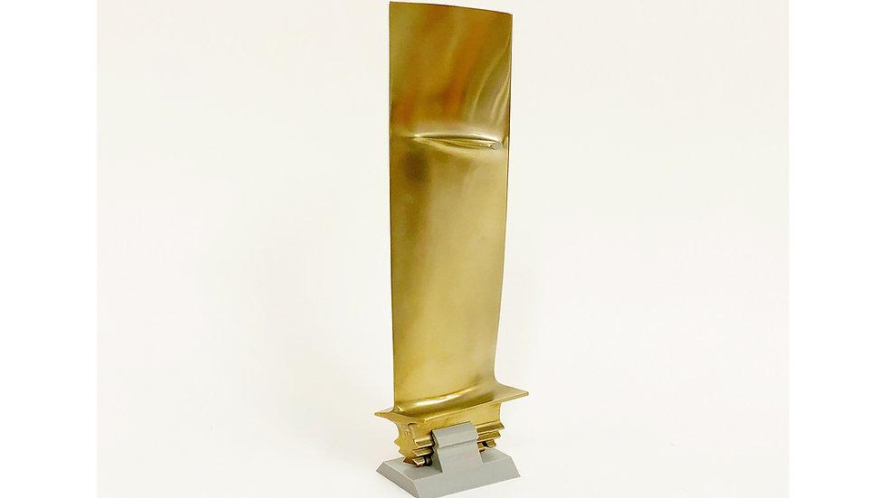 Harrier Jump Jet Engine Blade - Gold