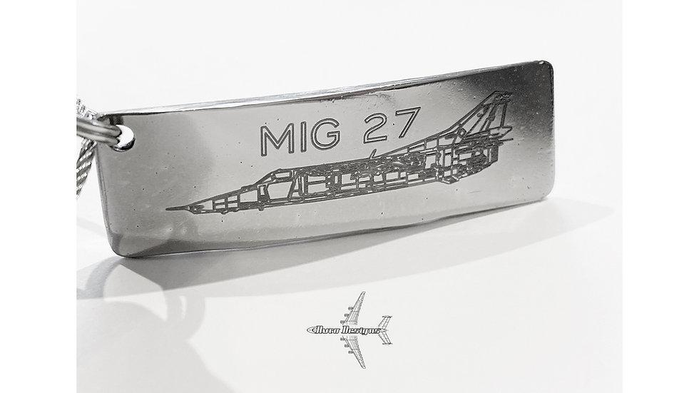 Mig 27 Engine Blade Key Tag