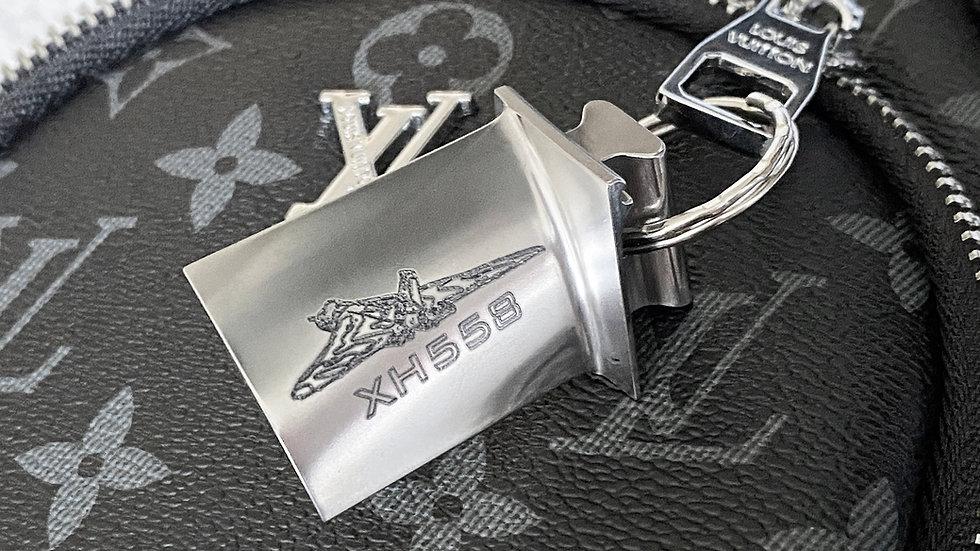 Avro Vulcan Engraved Rolls Royce Keyring
