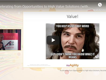 Accelerating from Opportunities to High Value Solutions