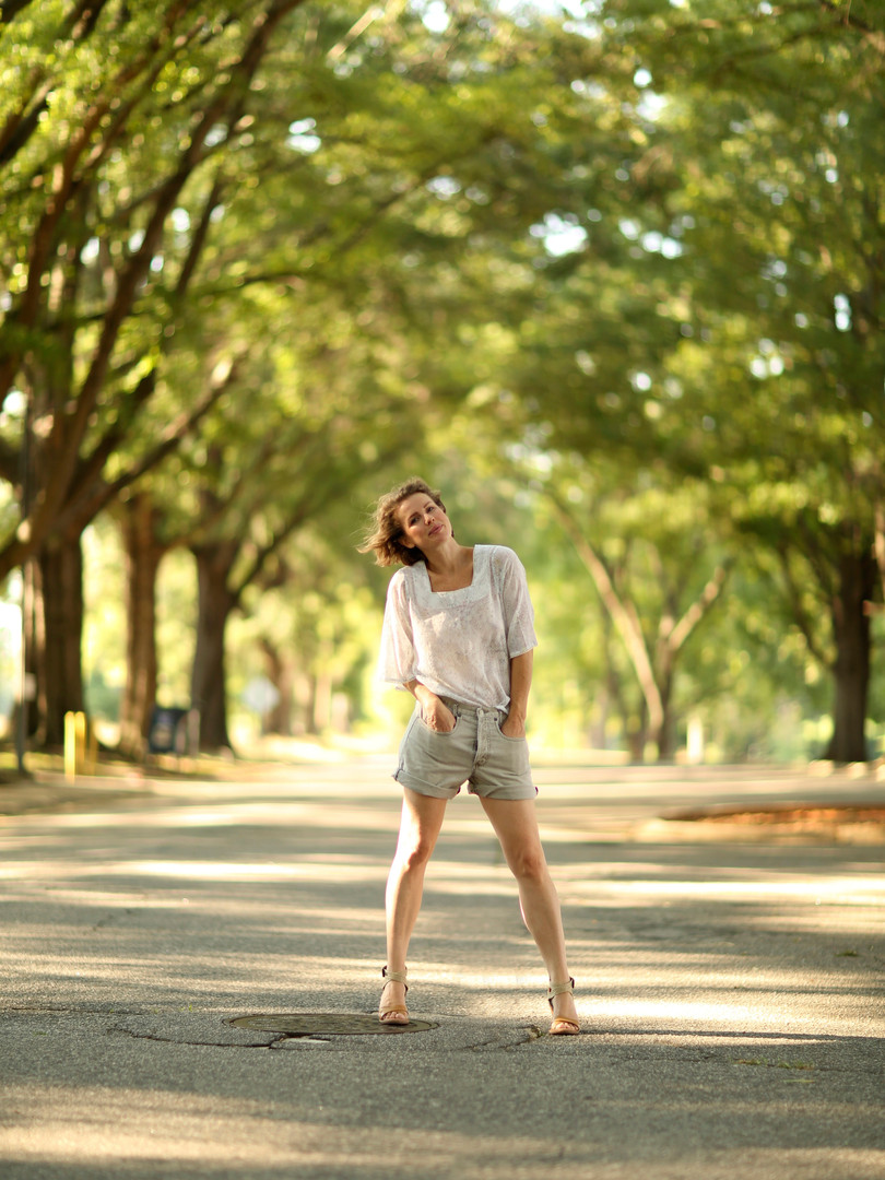 Model: Daria Drake Photographer: Caroline Cockrell August, 2017