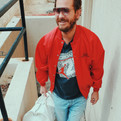 Jacket and Tee from One Of Vintage.  Bag from Trunkshow Apparel.