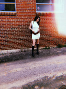 Dress from Old Salt Vintage. Belt from The Block Vintage. Boots from Boot & Trunk.