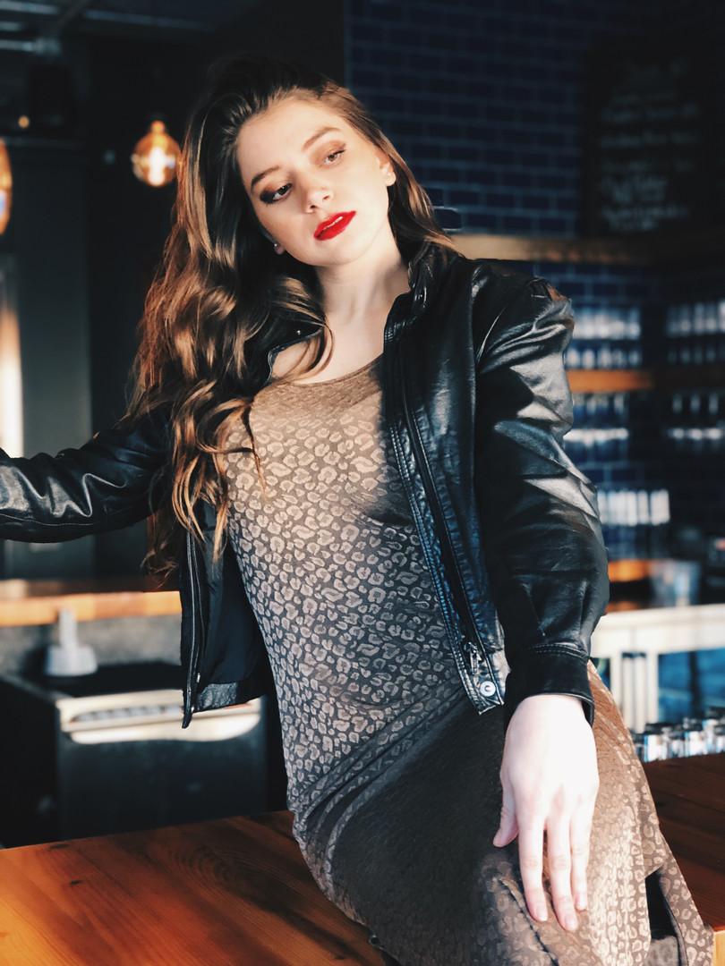 Model: Kendall Daniels Hair & Makeup: Kaitlin Hamilton Photo: Mary Brady January, 2019