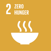 Goal 2: End hunger and ensure food security.