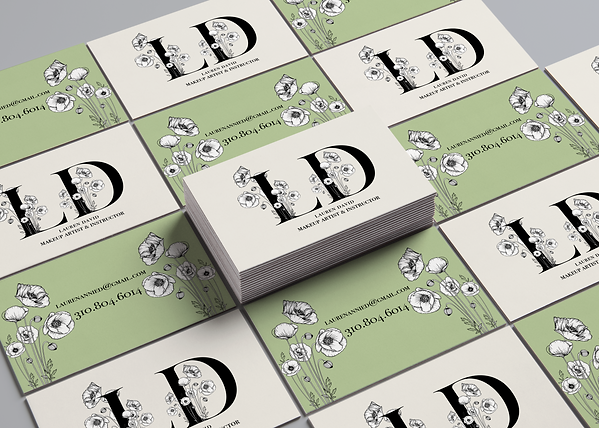 Lauren David Business Card
