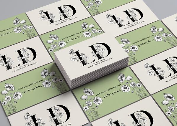 Lauren David Business Card