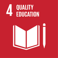 Goal 4: Enusuring inclusive and equitable education for all.