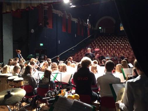 Barnfield Theatre rehearsal