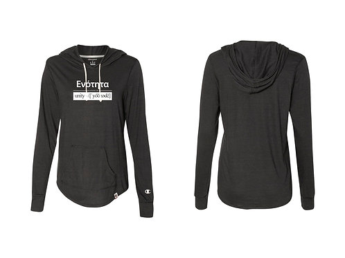 UNITY Champion - Womens Lightweight  BLK Pullover -  83807