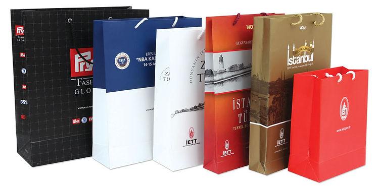 karton çanta, reklam çanta