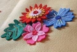 Keçe ev tekstil dekorları