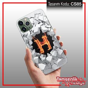 isme özel cep telefonu kapağı