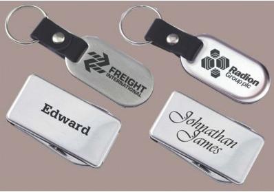 Metal anahtarlık markalama