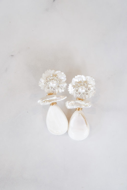 Embellished Mother of Pearl Drops