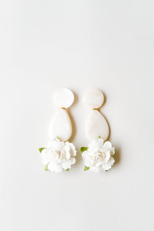 Mother of Pearl & Embellished Flowers