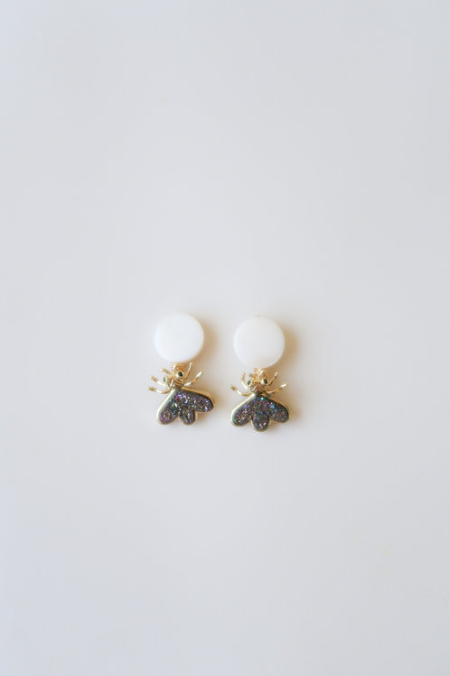 Mother of Pearl Druzy Bugs