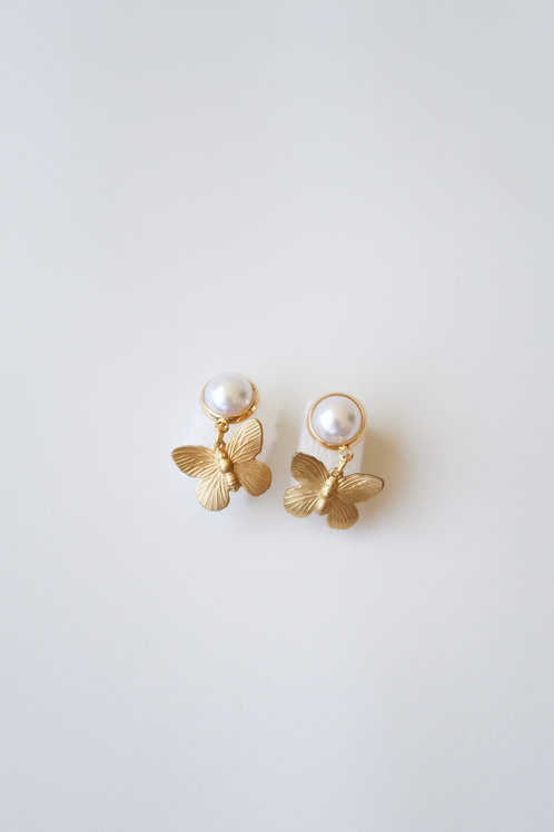 Pearly & Brass Butterflies