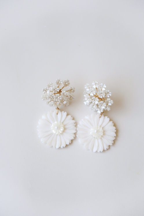 Mother of Pearl Floral Drops