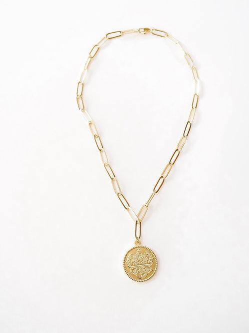 Signature Collection: Gold Fleur Necklace