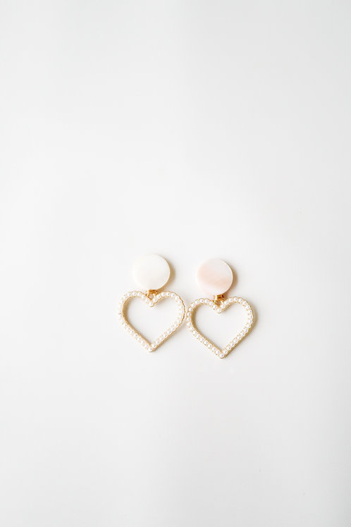 Mother of Pearl & Pearly Hearts