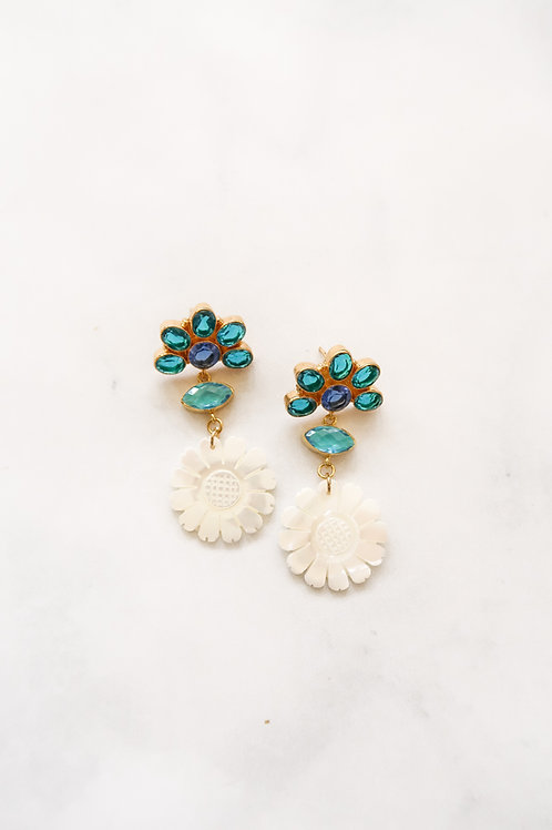 Blue Gem & Mother of Pearl Sunflowers