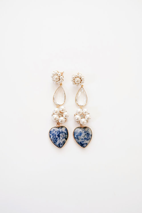 Pearly Crystal & Sodalite