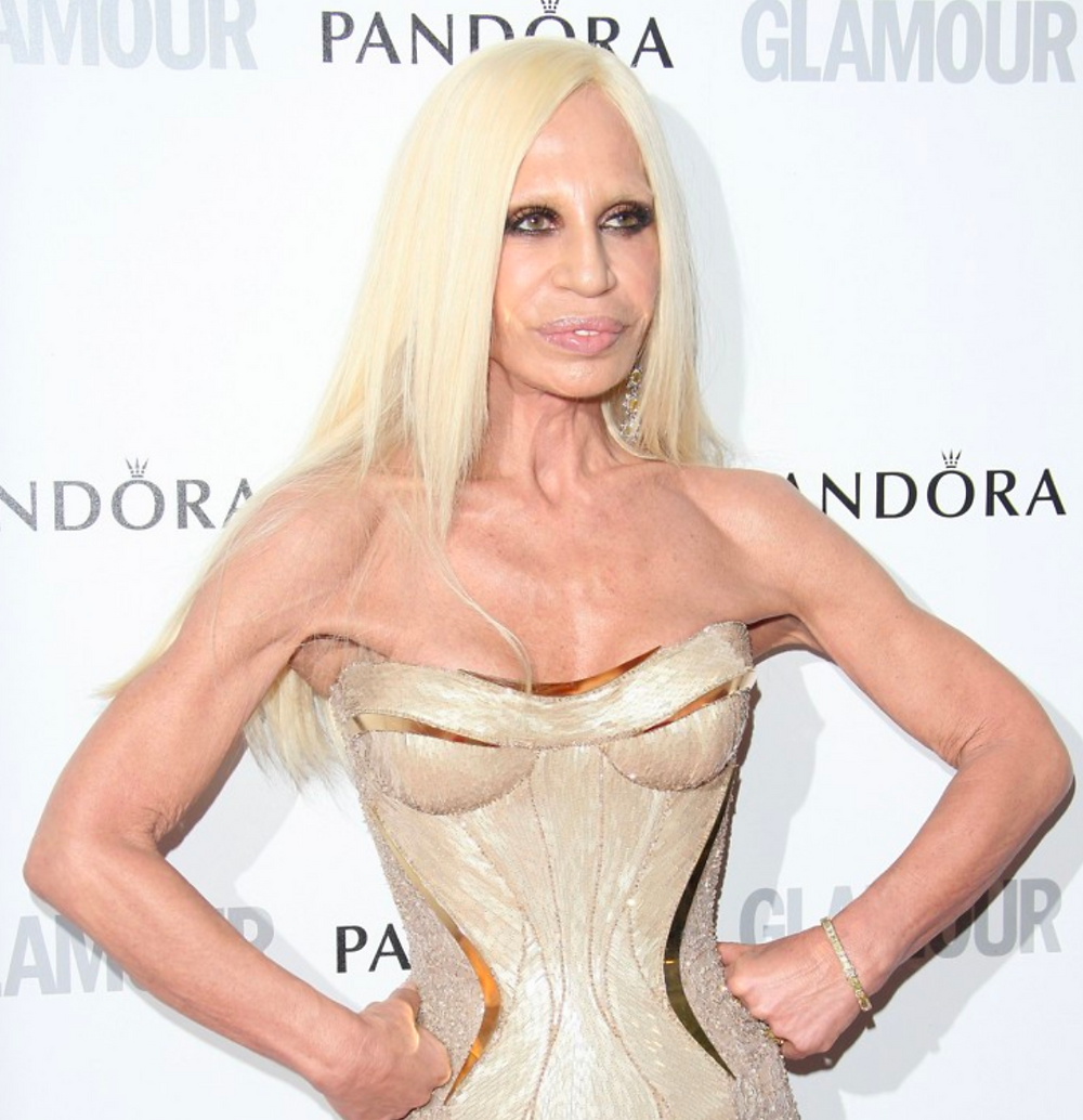 Donatella is said to love fighting and enjoys wrestling her endangered bears. spoof satire news