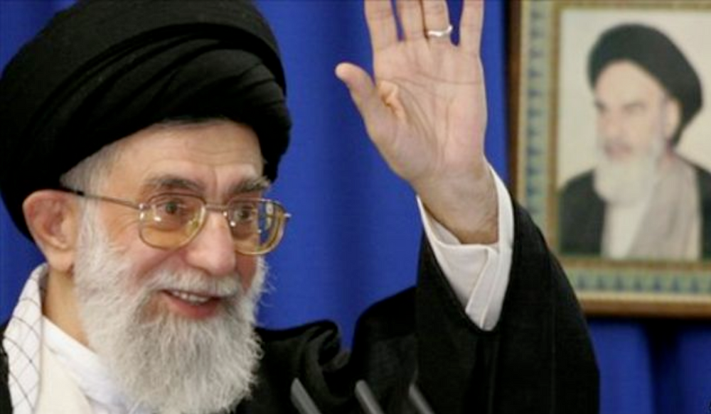 "Irans supreme leader was overheard saying ""Aya-told-ya-so""!"