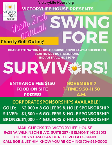 Swing FORE Survivors 2020!