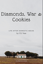abuse my story diamonds war cookies book victim survivor domestic violence intimate partner nation DV overcomer solopreneur founder nonprofit charity north carolina