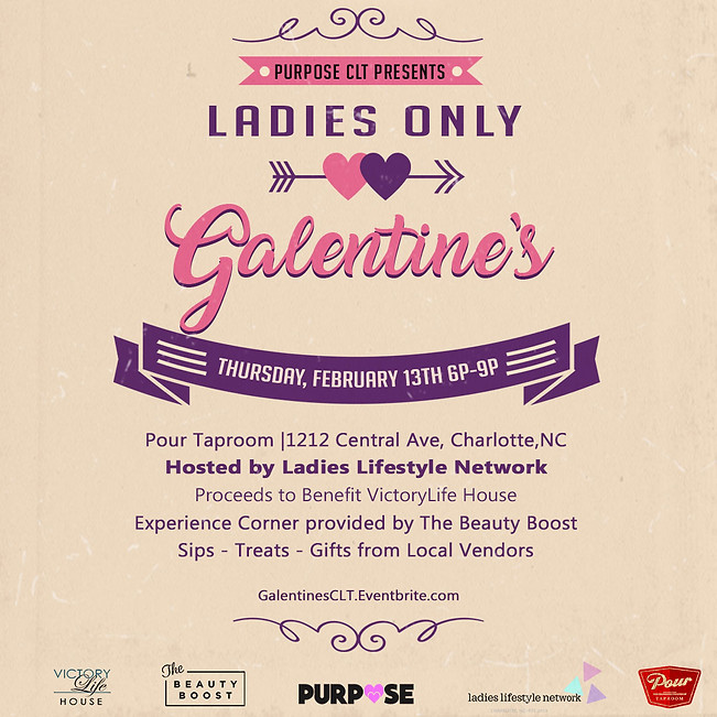 A Ladies Only Galentine's Event!