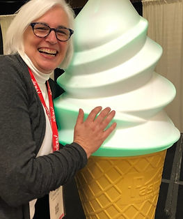 Me and the NICRA cone.jpg