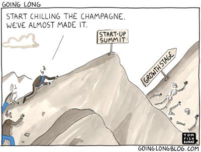 Cartoon Credit to GoingLongBlog.com by Glenn Solomon of GGV