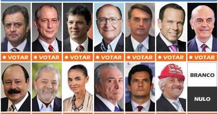 Em quem você vai votar?