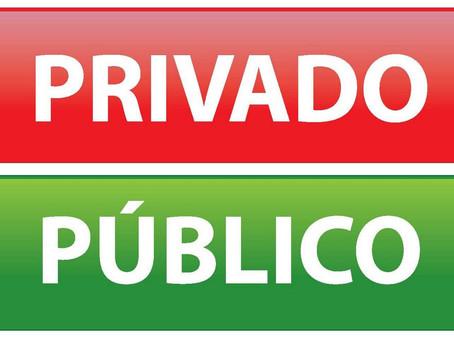 A rua é pública