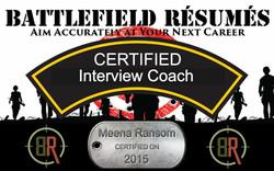 Battlefield Resumes Certified Interview Coach