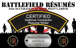 Battlefield Resumes Certified Defense Contractor Resume Writer