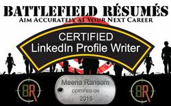 Battlefield Resumes Certified LinkedIn Profile Writer