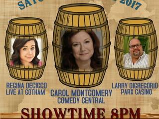 Distillery Comedy Night May 6th