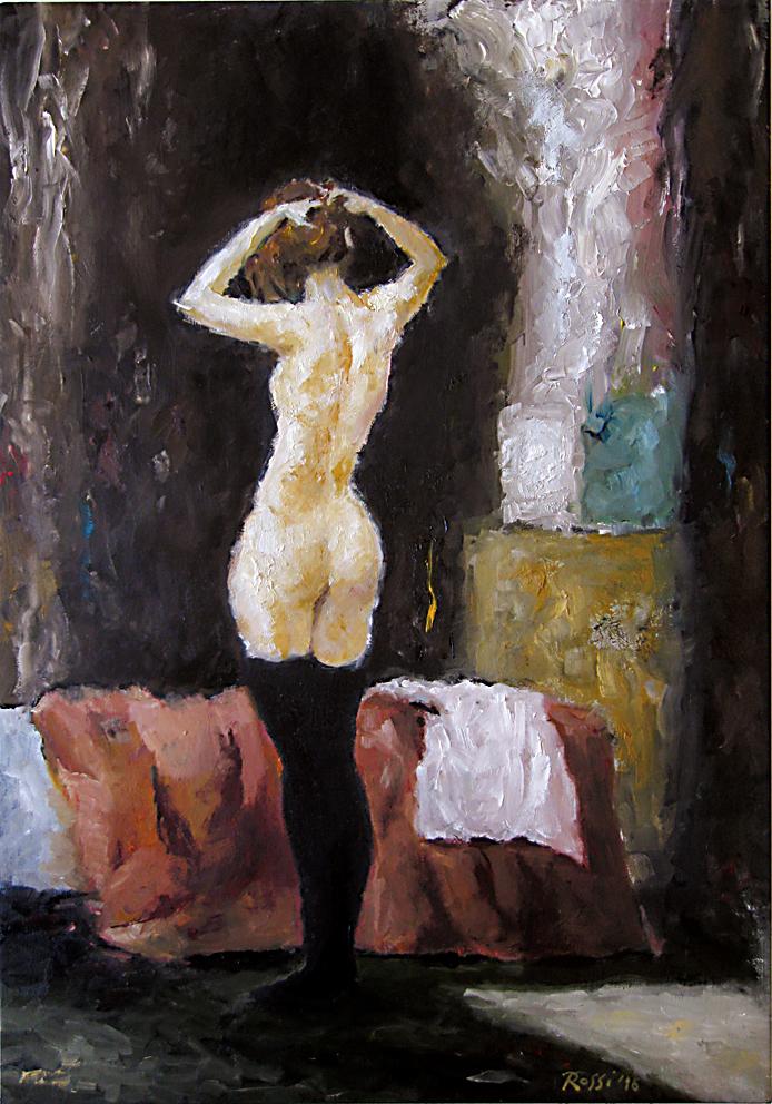 Nude in the Bedroom
