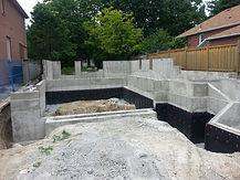 concrete foundation Toronto