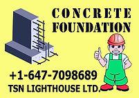 concrete foundation GTA Ontario