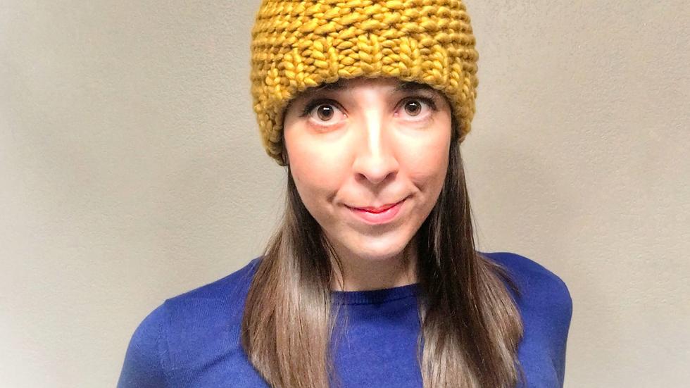 Seed Pom Hat Pattern