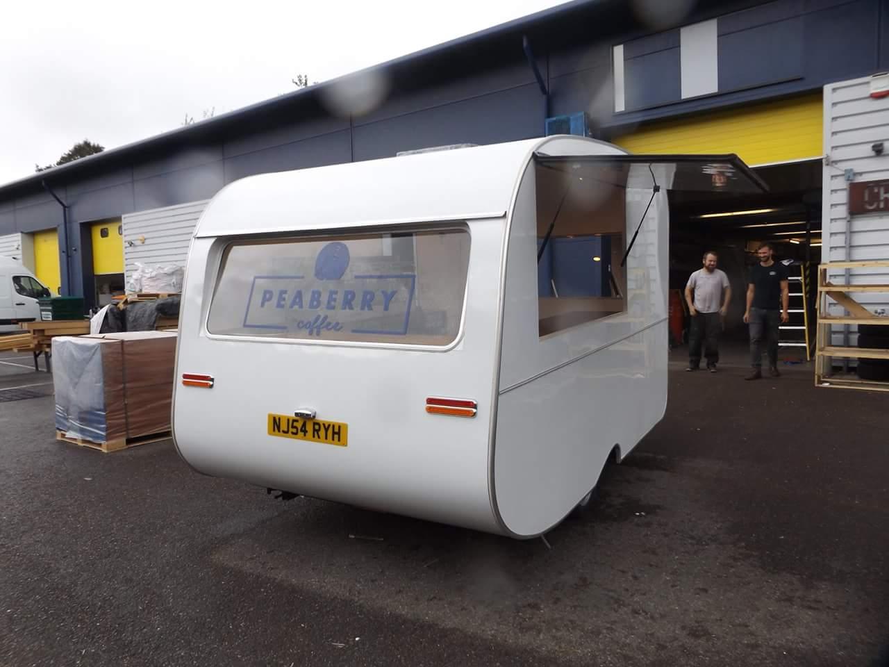 coffee shop caravan