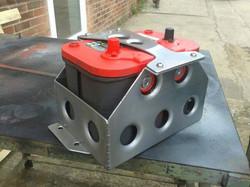 aluminium battery tray