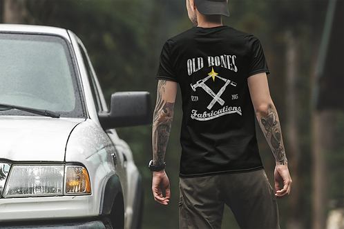 Old Bones Fabrications Official Logo T-Shirt