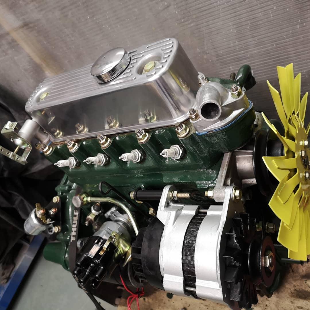 A series engine