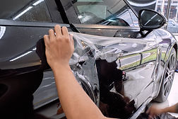 Paint protection film installation on do