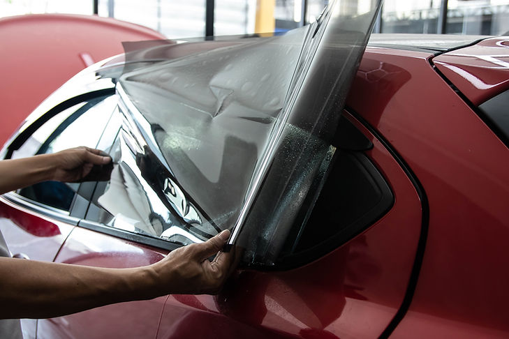 Car window tinting series : Installing c